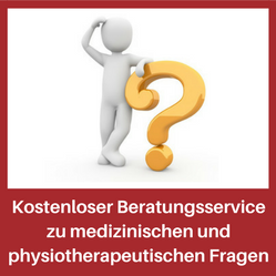 Fragen zur Physiotherapie kostenloser Beratungsservice