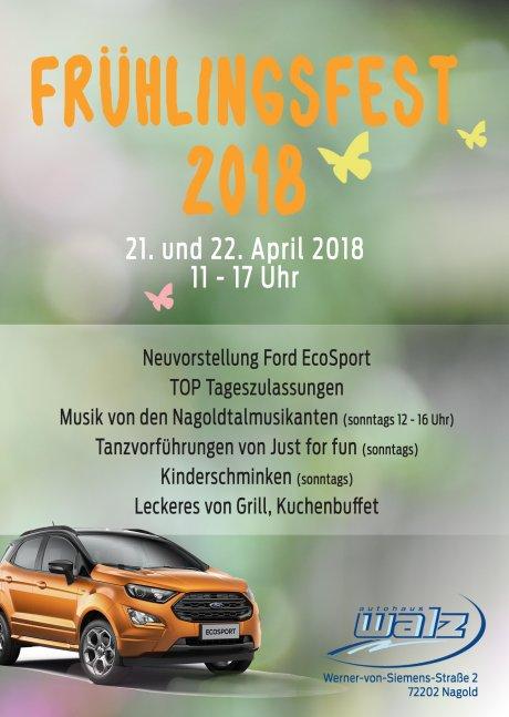 Frühlingsfest Autohaus Walz Nagold