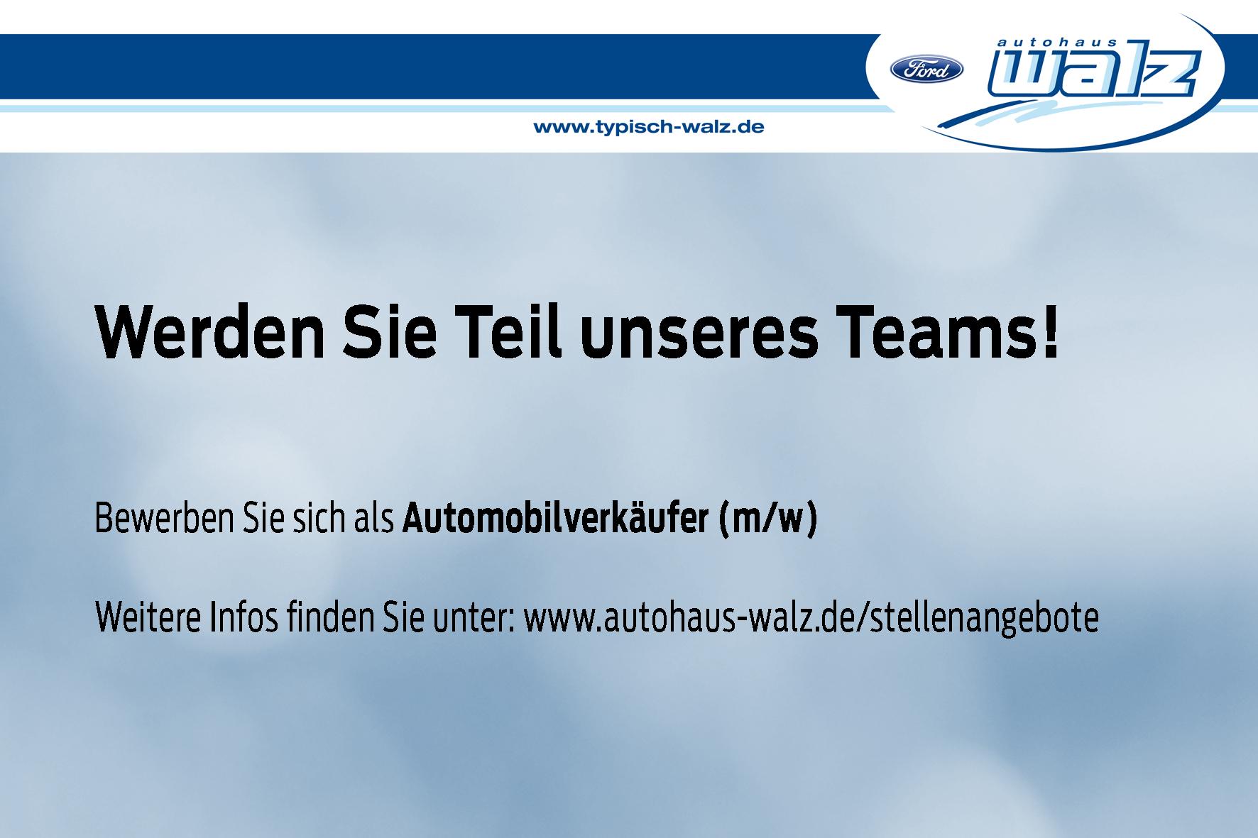 Automobilverkäufer für Baiersbronn gesucht
