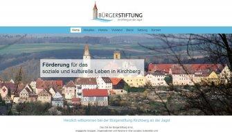 Webdesign Bürgerstiftung Kirchberg-Jagst