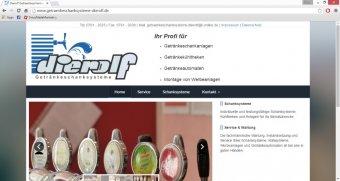Getraenkeschanksysteme-Dierolf-Webseite
