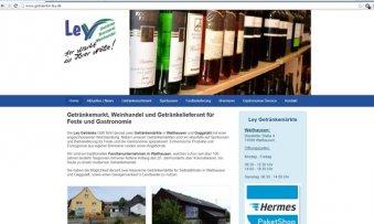 Responsive: Getränke Ley | Wallhausen