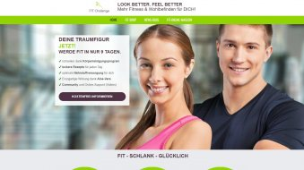 Webdesign-Referenz-Fitness