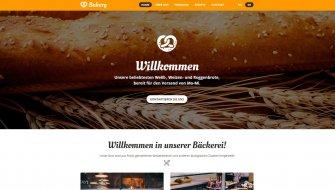 Webdesign-Muster | Bäckerei