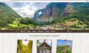 Websitemuster-Ferienwohnung