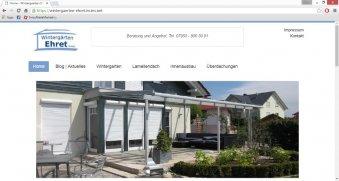 Responsive: Wintergaerten Ehret GmbH | Satteldorf