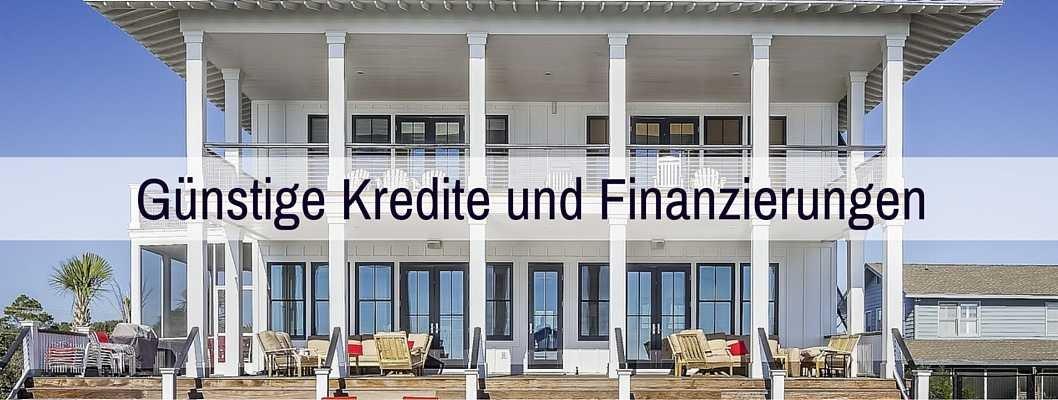 Kreditvergleich und Baufinanzierungsvergleich