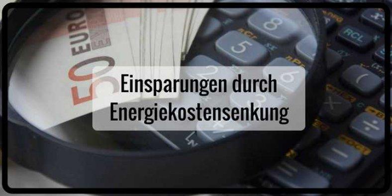 Energiekosten senken und sparen