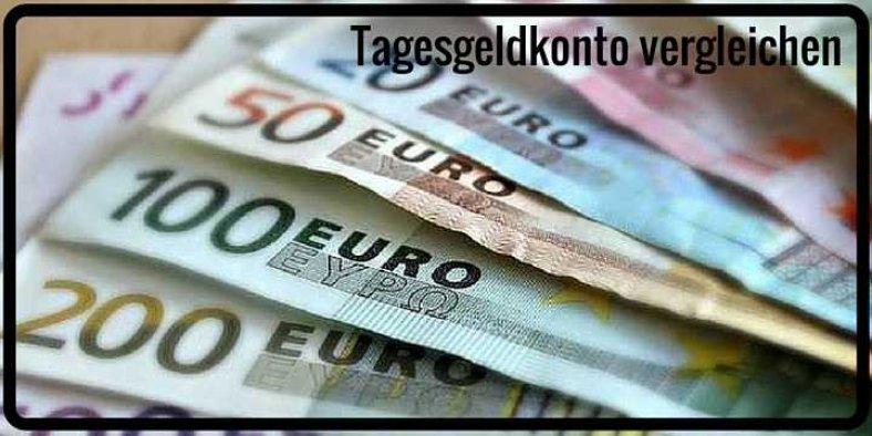 Tagesgeldkonto vergleichen und Zinsen erhöhen