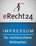 eRecht24 - Siegel - Impressum
