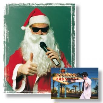 Weihnachtsfeier Ideen Frankfurt - Santa-Claus Musik-Show - Elvis-Christmas-Show