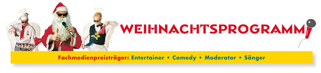 Weihnachtsfeier Künstler Frankfurt Weihnachtsprogramm Logo