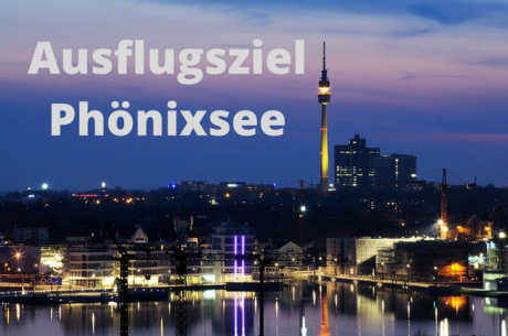 Ausflugsziel Phönix See in Dortmund