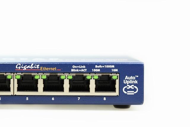 Hamburger elektriker LAN-Switch