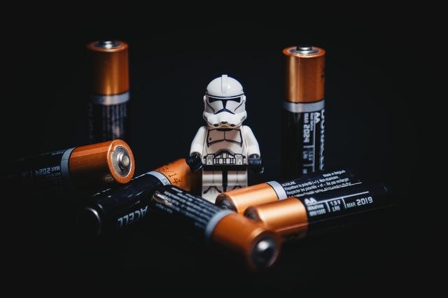 Batterien für elektrische Home-Steuerung