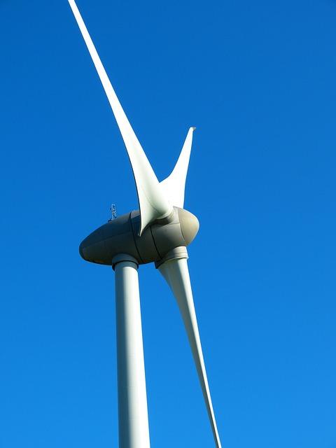 Windrad für Elektrizität der Stadt München