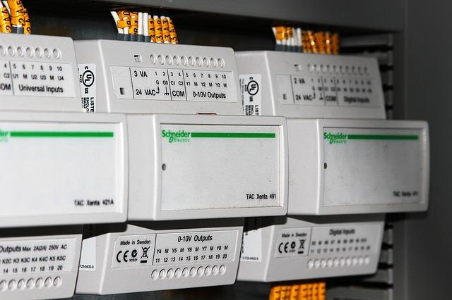 Schaltkreise für eine Wiener Einfamilienhaus