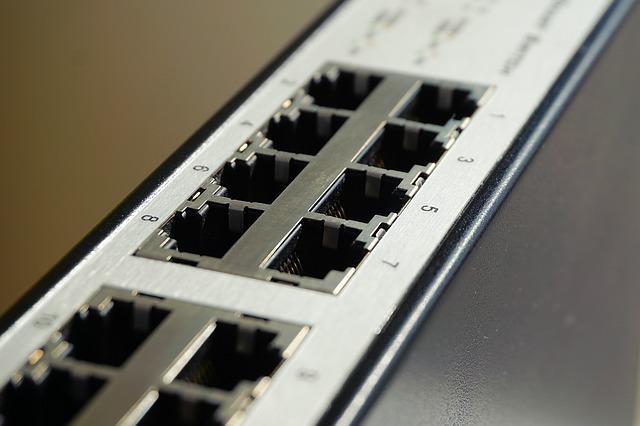 Elektrogerät für Netzwerk Switch