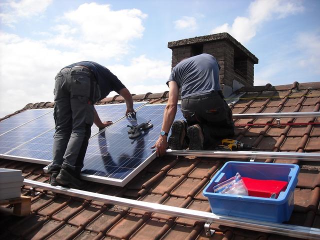 moderne Wiener Immoblien mit Photovoltaik
