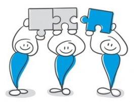 Einander ergänzen im Teambuilding
