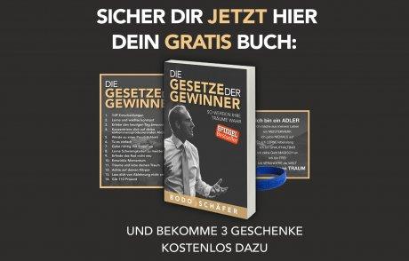 Bodo Schäfer verschenkt sein Buch!