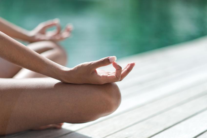 Meditation und Stille