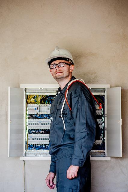 Elektriker Notdienst auf einer Kölner Baustelle