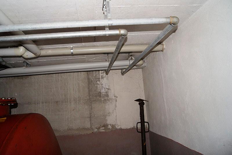 Rohre im Keller bei Dortmund