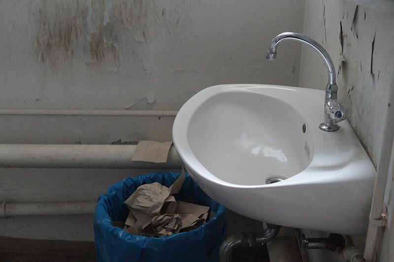 alte und ungepflegte Sanitaere Anlagen in Dortmund