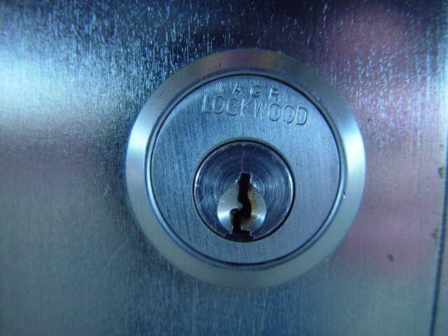 silbernes Schlüsselloch