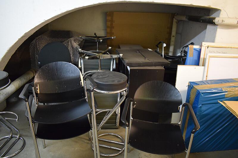 Möbel entrümpeln bei einer Haushaltsauflösung in Berlin