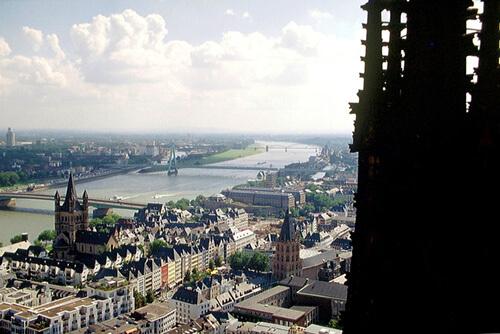 Ausblick auf Köln