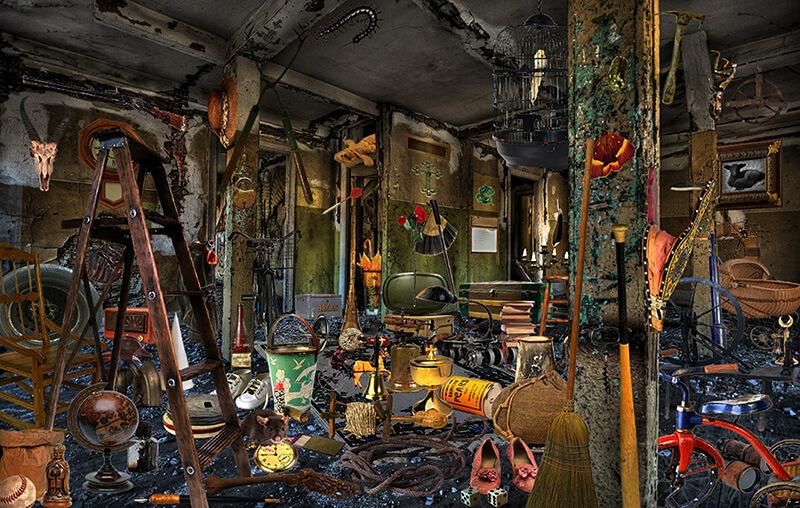 Volle Garage eines Kunden in Köln Kalk