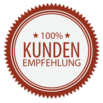 100% Kundenempfehlung von Nürnberg