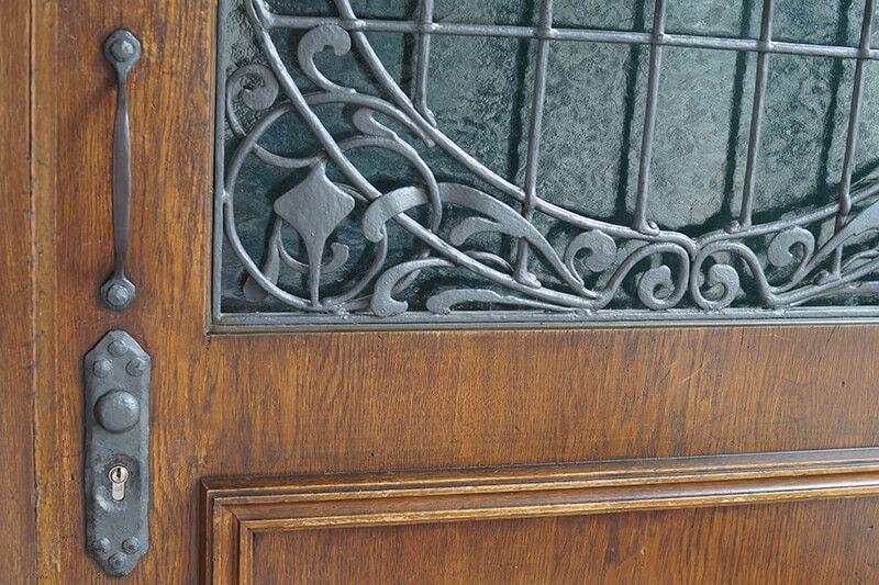 Nürnberger Schlüssel Notdienst, alte Haustür