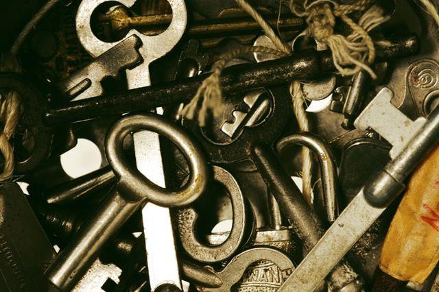 Ansammlung von Schlüsseln