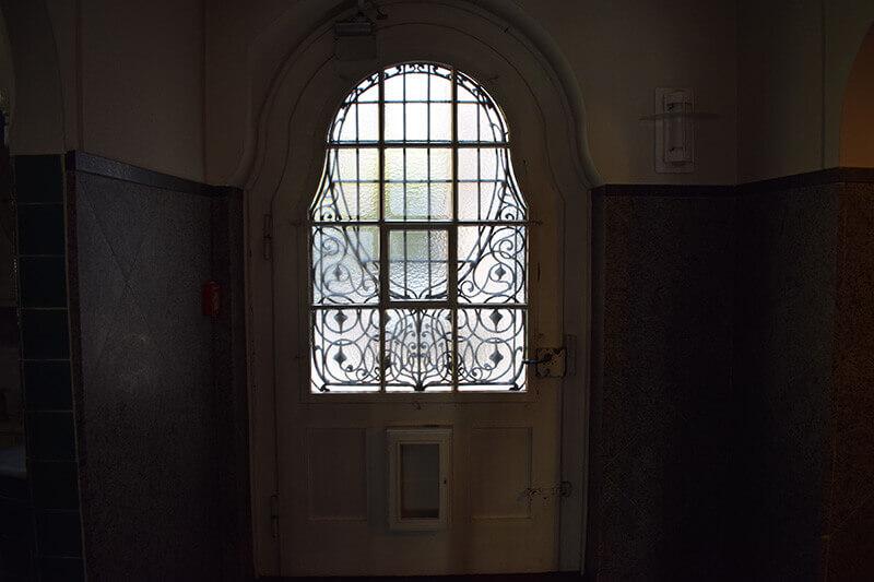 eine verschlossene Tür in Bremen