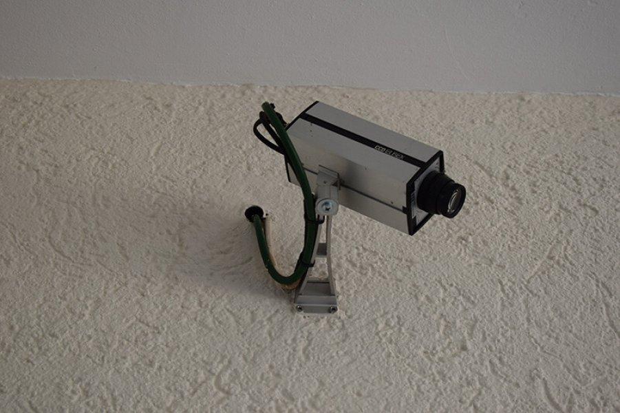 Kamera des Sicherheitssystems in Regensburg