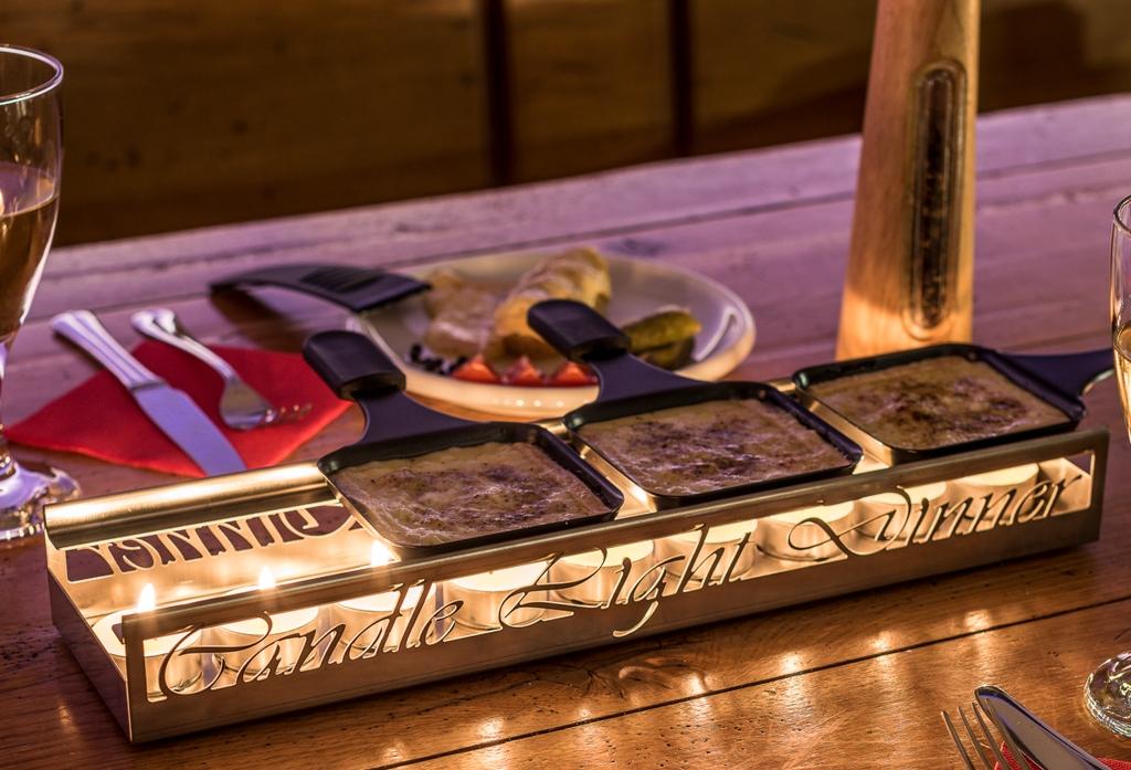 Racletteofen 2.0 - Design Candle light Dinner