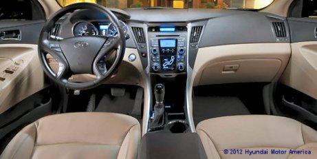 Hyundai Sonata Hybrid Interieur