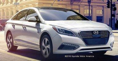 Hyundai Sonata Hybrid 2016 Crossover
