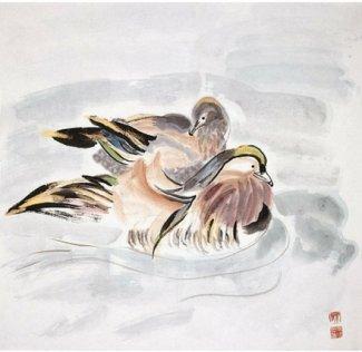 Lovers, 1995, 68 x 68 cm