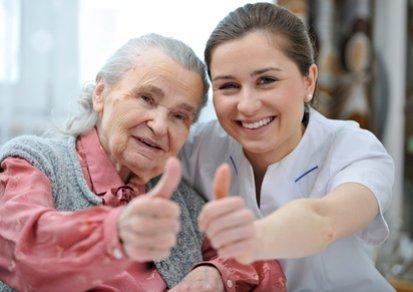 zufriedenstellende Pflege