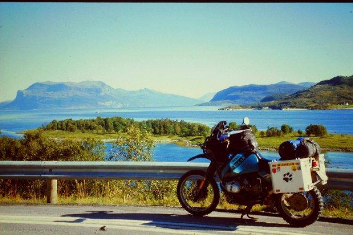 Mit der BMW R100 GS unterwegs in Norwegen