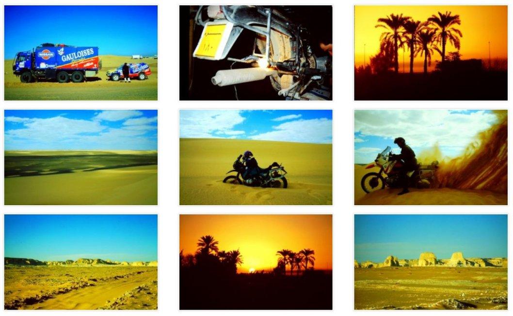 Reisebilder mit der BMW R100 GS durch Nordafrika