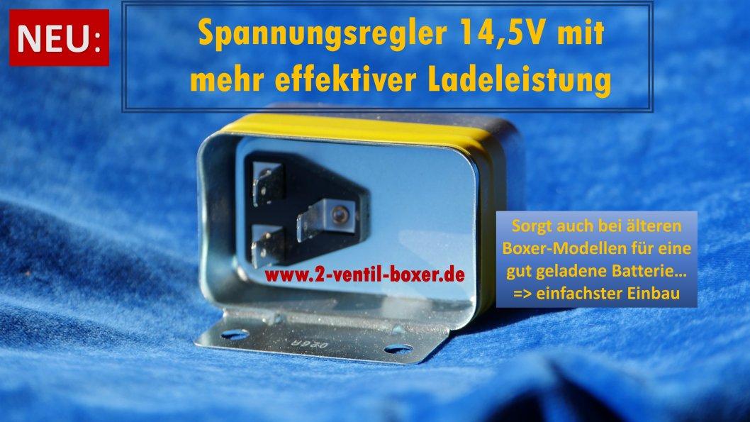 Spannungsregler 14,5 Volt für BMW 2 Ventil-Boxer