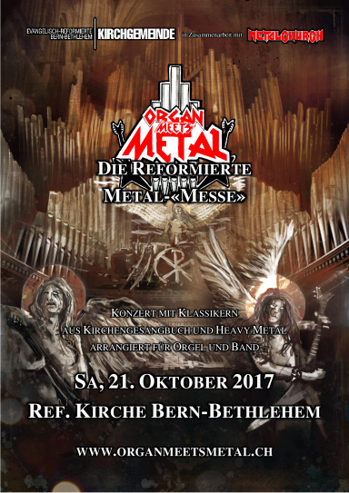 Organ Meets Metal (Front)