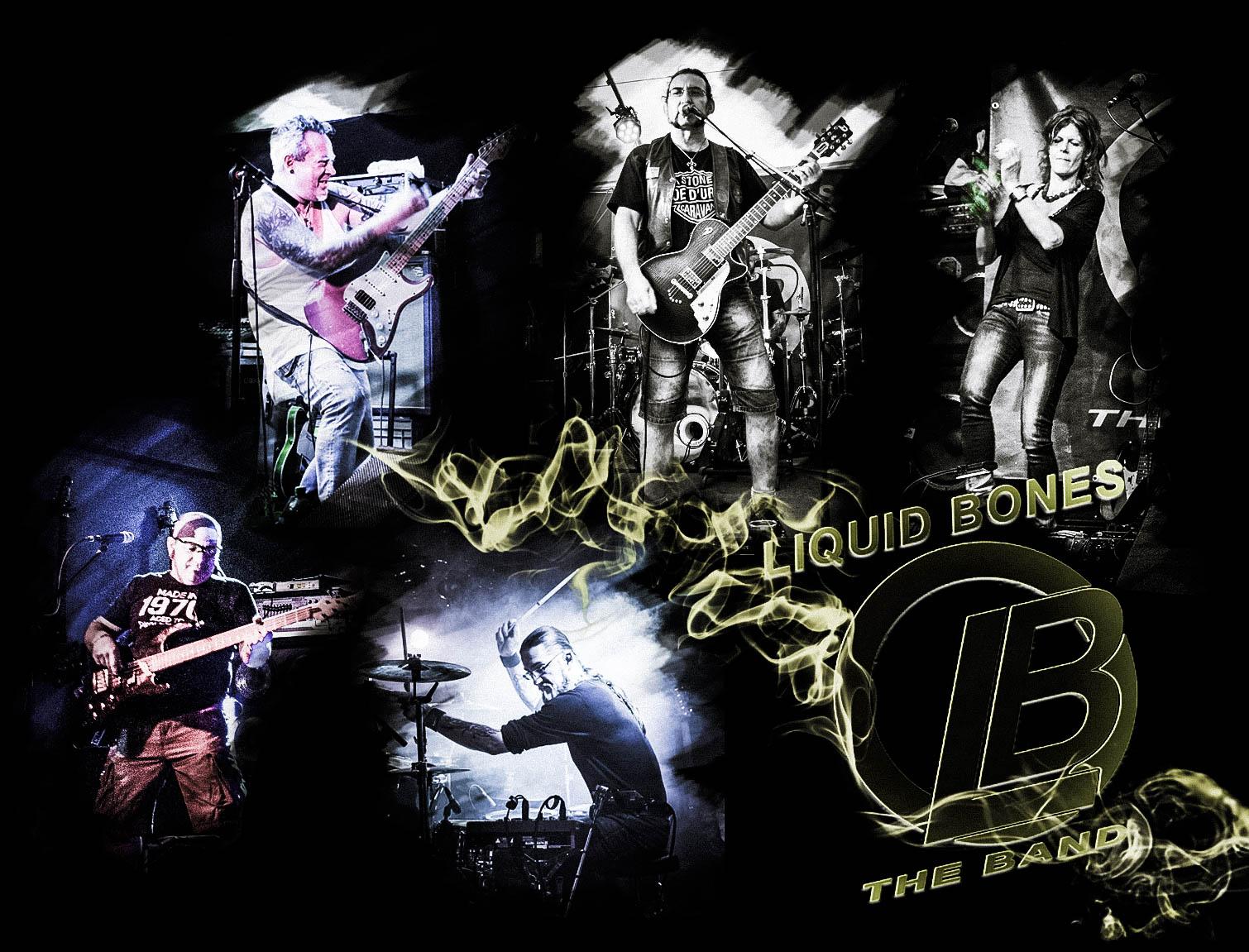 Bandmitglieder Liquid-Bones