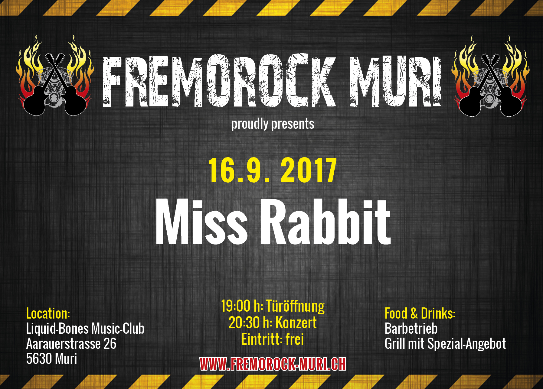 Flyer Fremorock 2017 - Miss Rabbit