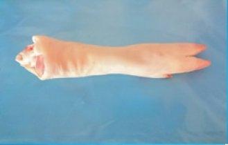 Schweinfüssle hinten mit Zehen